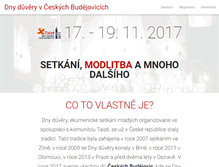Tablet Preview of dnyduvery.cz